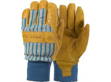 FlyLow Tough Guy Glove - natural/blue