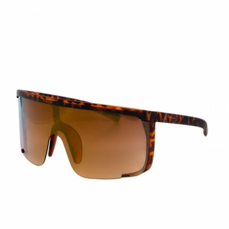 Oversized Shades - Miami Vibes - Leopard - Bronze Mirror